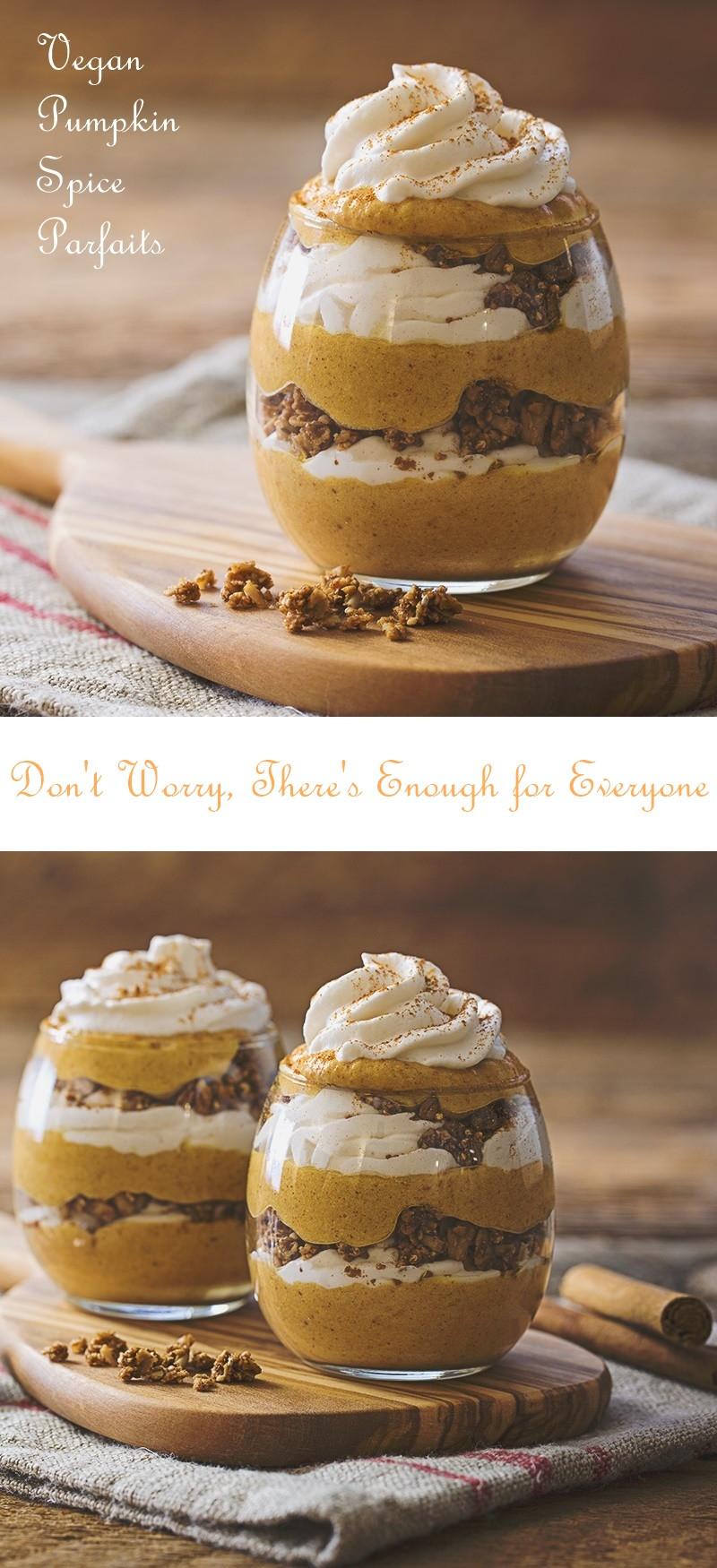 Vegan Pumpkin Desserts Recipes  Vegan Pumpkin Spice Parfaits Recipe Gluten Free