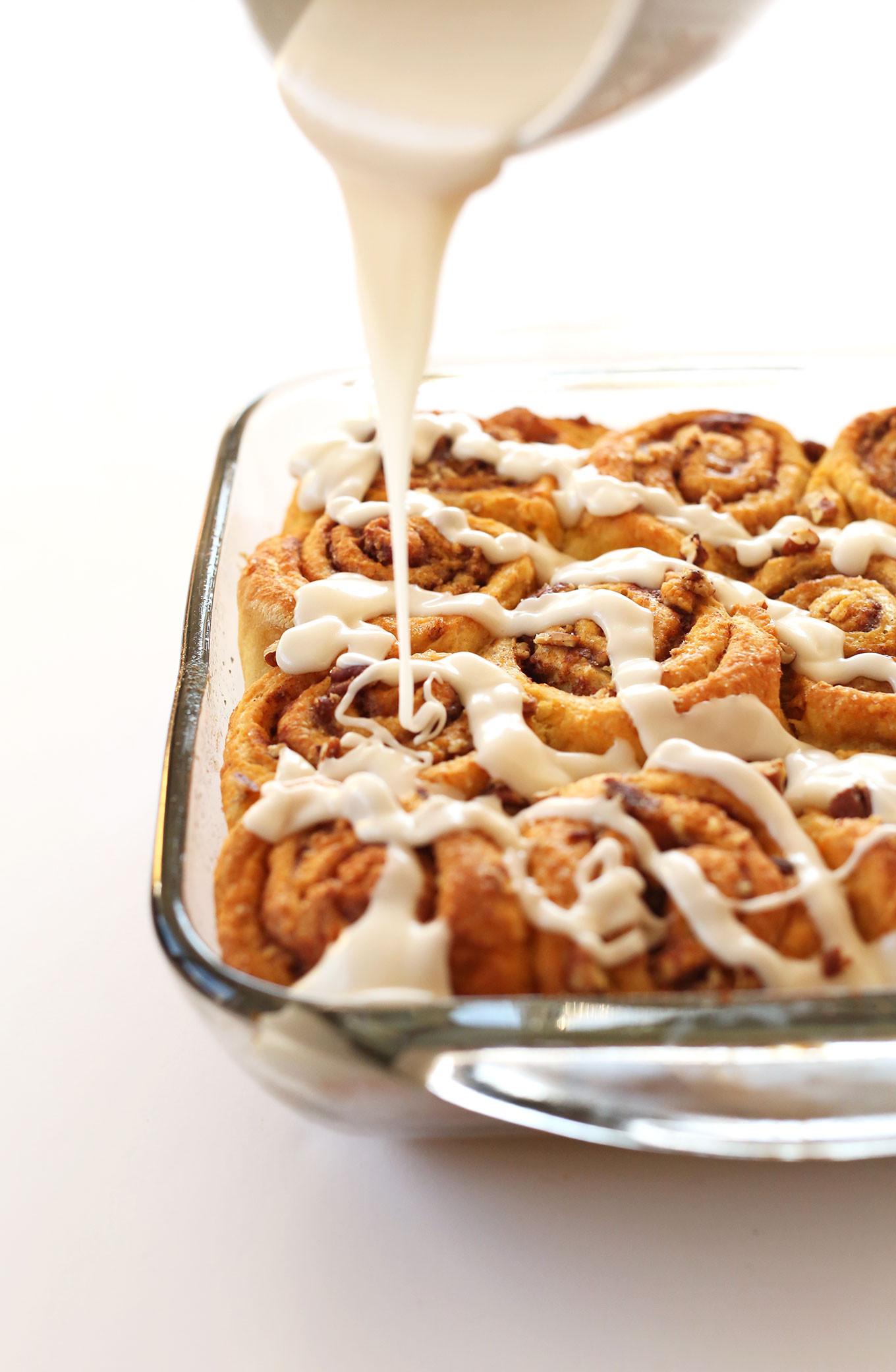Vegan Pumpkin Desserts Recipes  Vegan Pumpkin Cinnamon Rolls