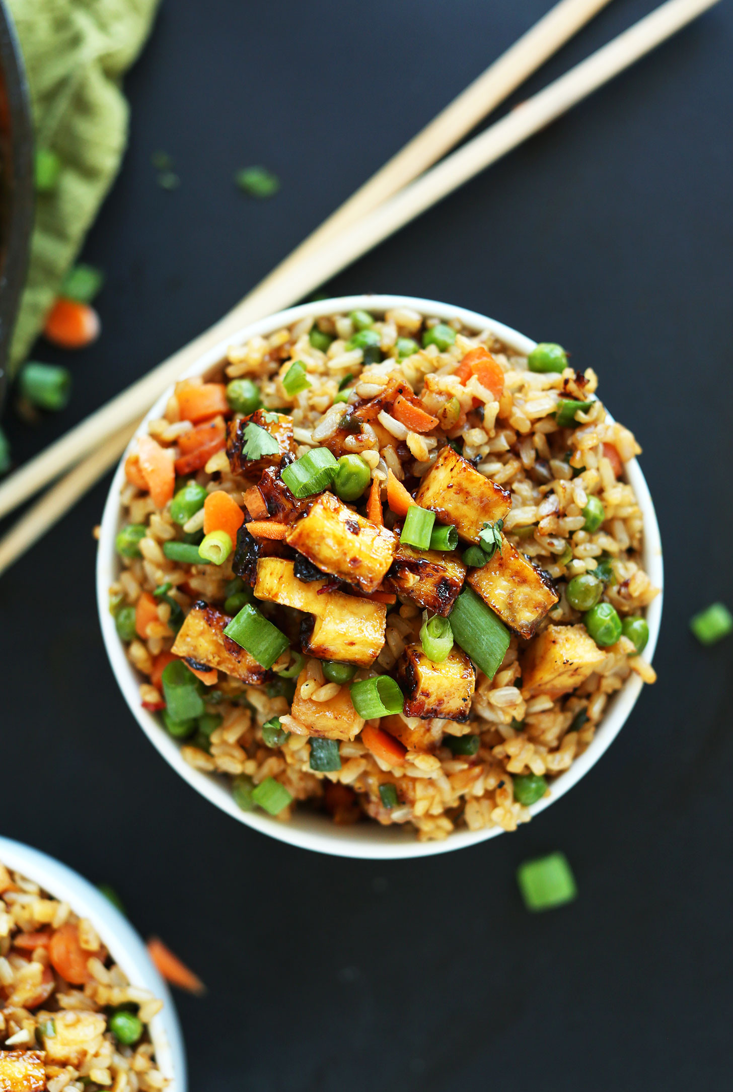 Vegan Recipes Healthy  thai rice recipe ve arian
