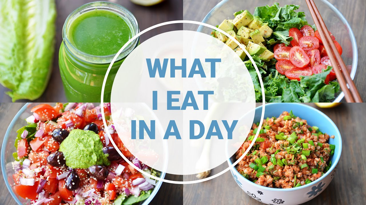 Vegan Recipes Healthy  What I Eat In A Day