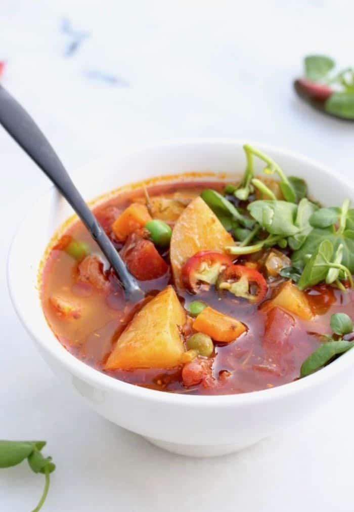 Vegan Recipes Healthy  Healthy Vegan Potato Soup Recipe Veggie Society