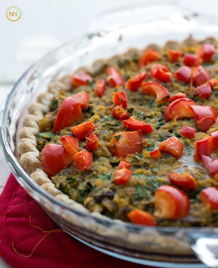 Vegan Recipes Main Dish  Vegan Holiday Main Dish Mushroom Chickpea Hazelnut Tart