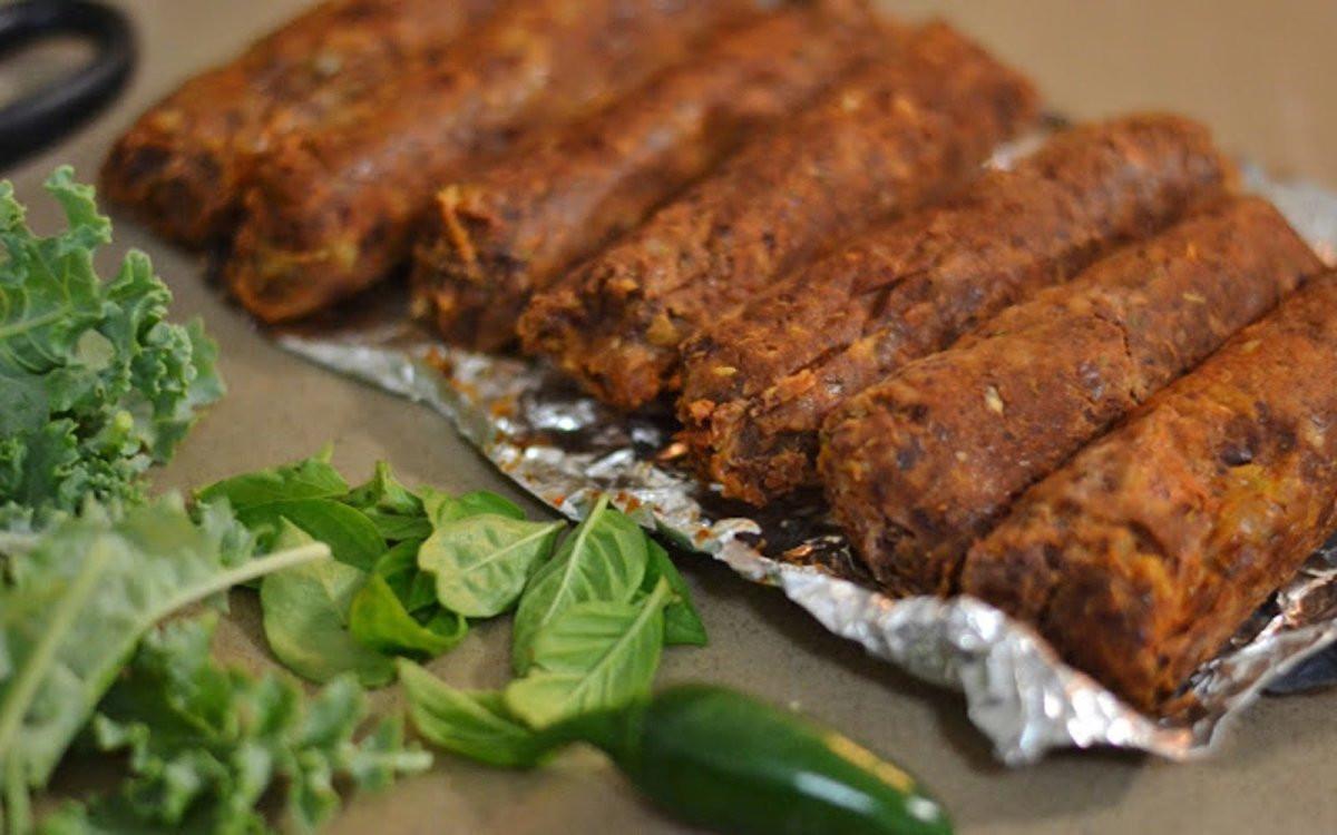 Vegan Sausage Recipes  Red Bean Sausages [Vegan] e Green Planet