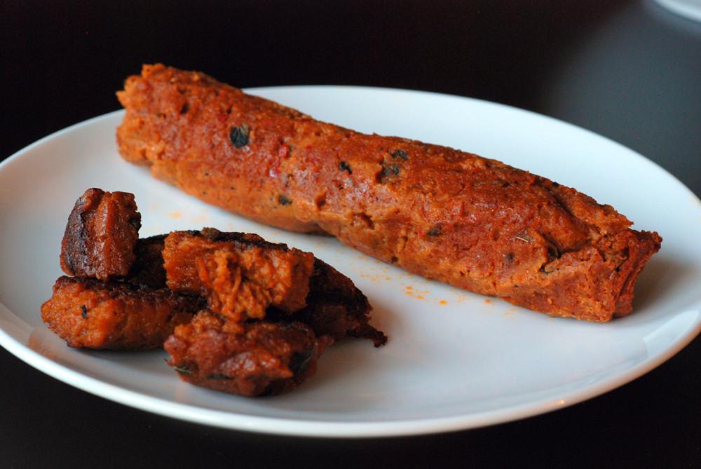 Vegan Sausage Recipes  Vegan Chorizo Sausages