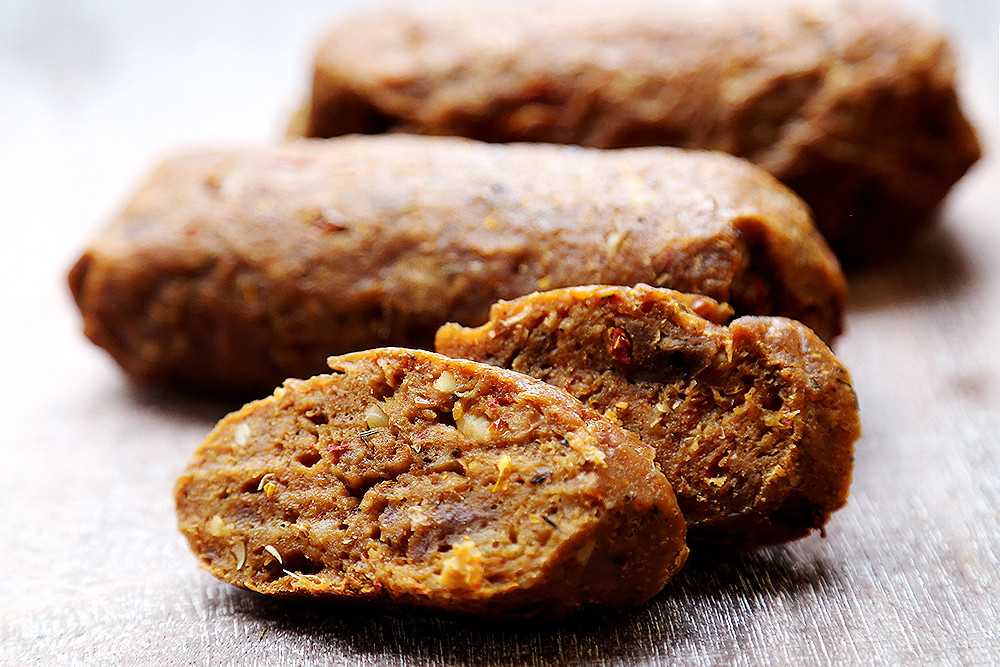 Vegan Sausage Recipes  Vegan Sausage Meat Substitutes Recipes Divine Healthy