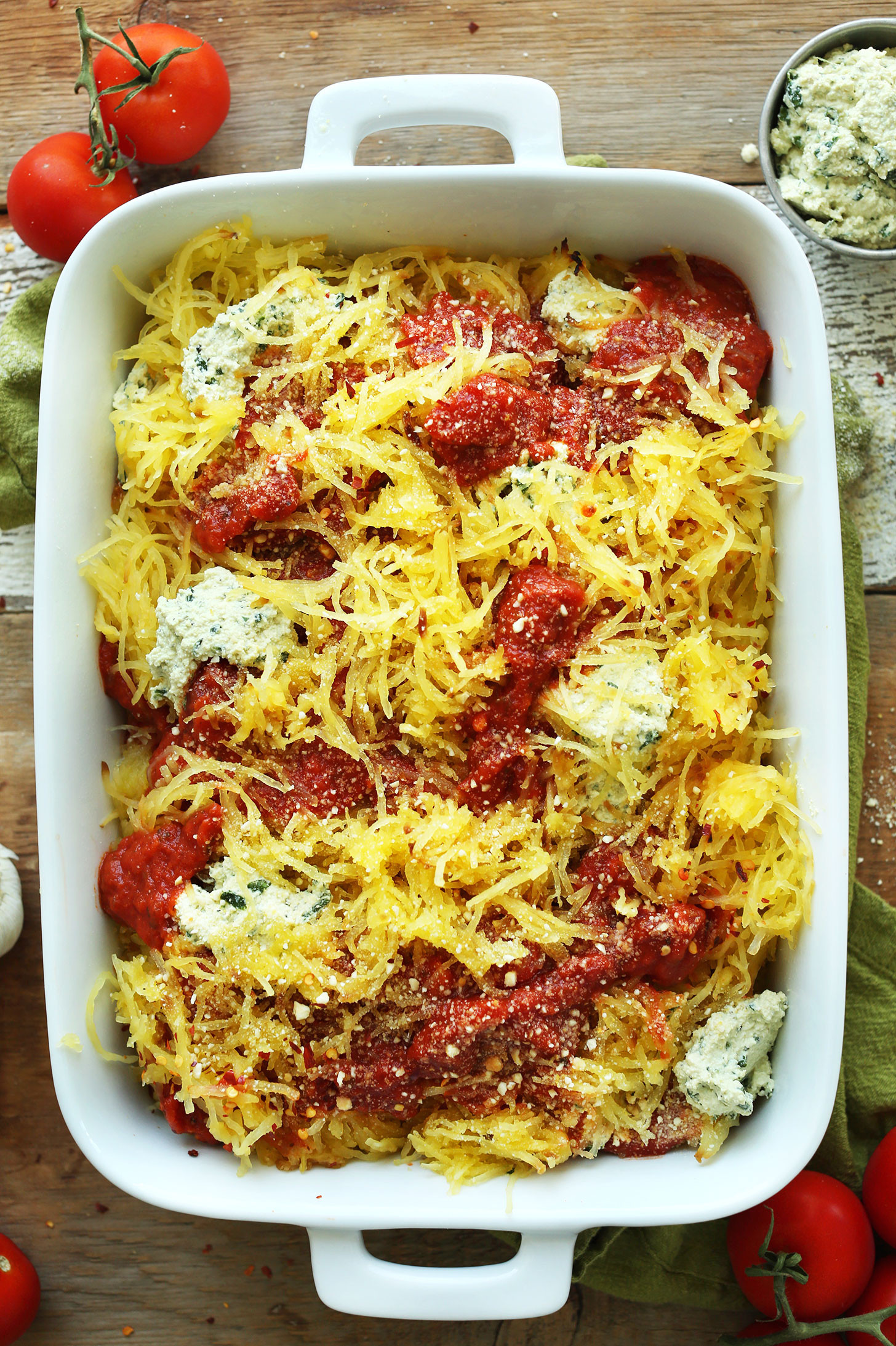 Vegan Spaghetti Squash Recipes  Spaghetti Squash Lasagna