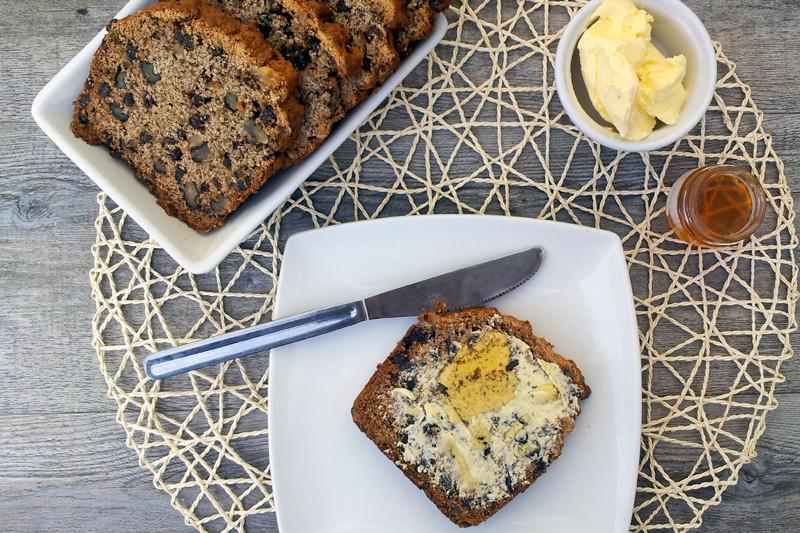 Vegan Spelt Bread Recipe  Banana Spelt Bread [vegan]