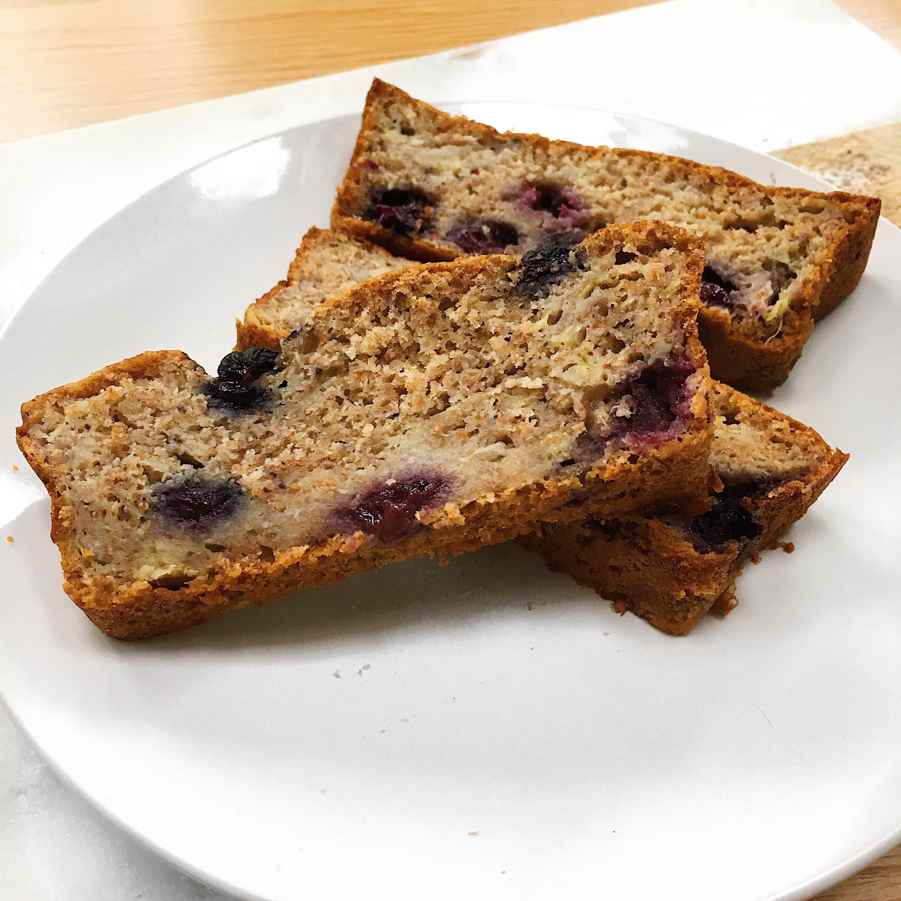 Vegan Spelt Bread Recipe  Spelt Flour Vegan Blueberry Banana Bread