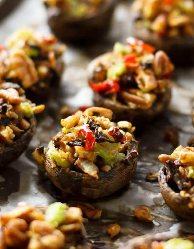 Vegan Stuffed Mushrooms Recipes  Vegan Stuffed Portobello Mushrooms