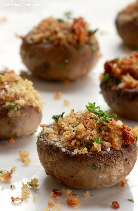 Vegan Stuffed Mushrooms Recipes  Ve arian Stuffed Mushrooms Recipe
