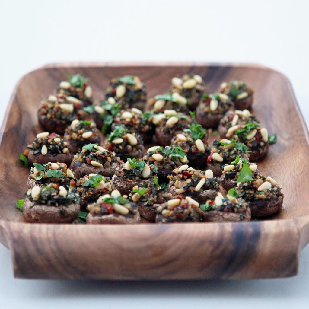Vegan Stuffed Mushrooms Recipes  Ve arian Stuffed Mushroom Recipe