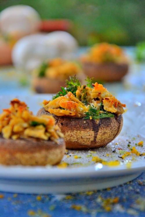 Vegan Stuffed Mushrooms Recipes  Gluten free meals