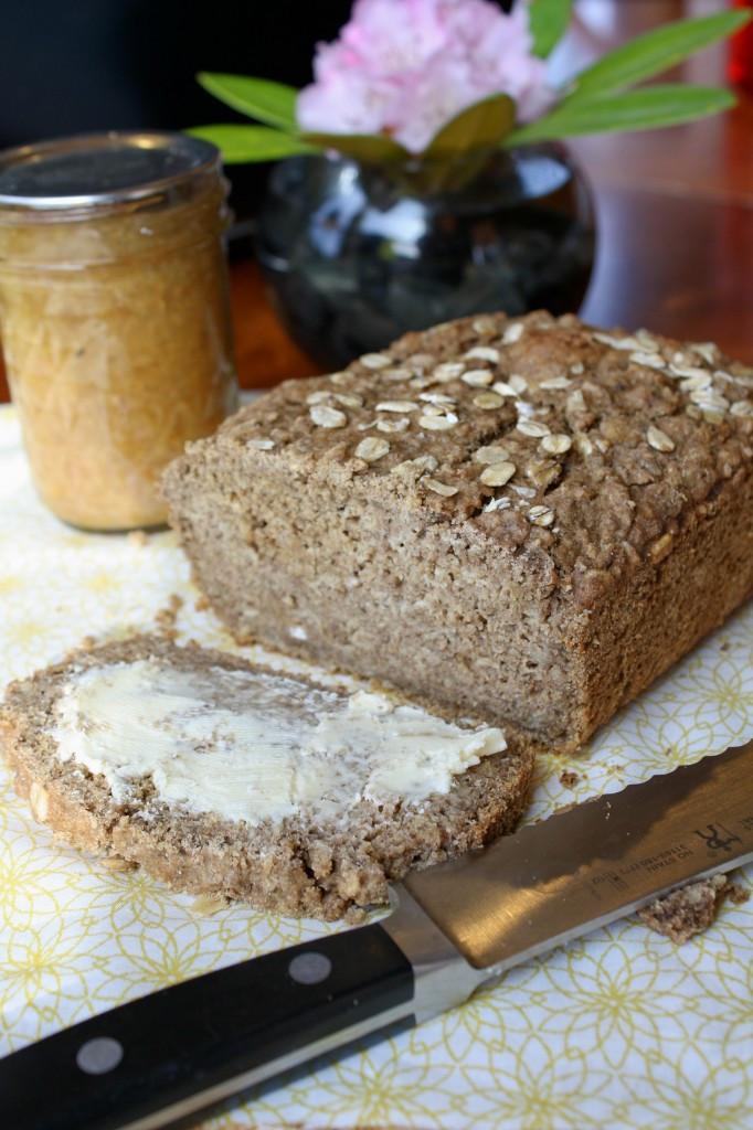 Vegan Sweet Bread Recipe  Sweet Brown Oatmeal Bread – Gluten Free & Vegan