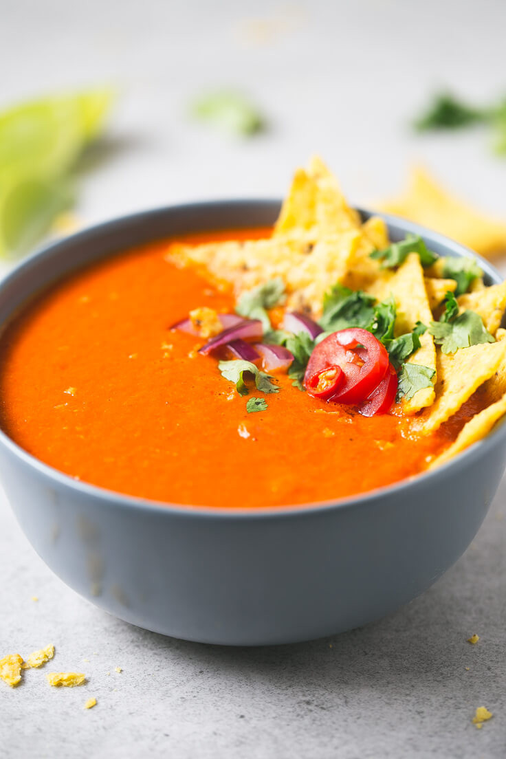 Vegan Tomato Soup  Rainy Day Vegan Tomato Soup Eat Keto With Me