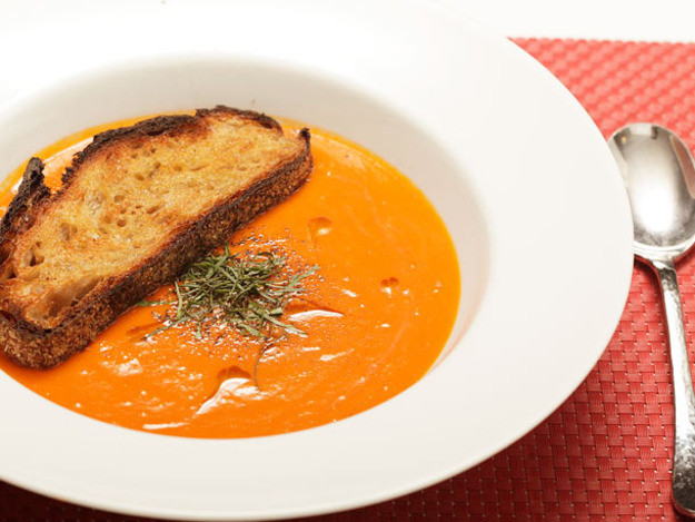 Vegan Tomato Soup  17 Thanksgiving Soups We Love