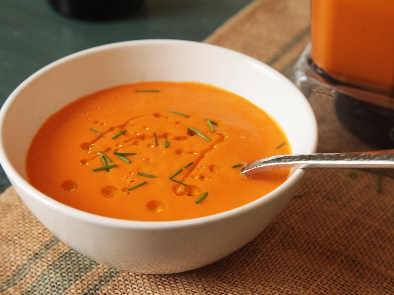 Vegan Tomato Soup Recipes  15 Minute Creamy Tomato Soup Vegan Recipe