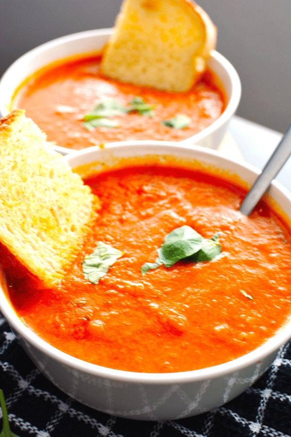 Vegan Tomato Soup Recipes  Vegan Tomato Soup Kim Blogs