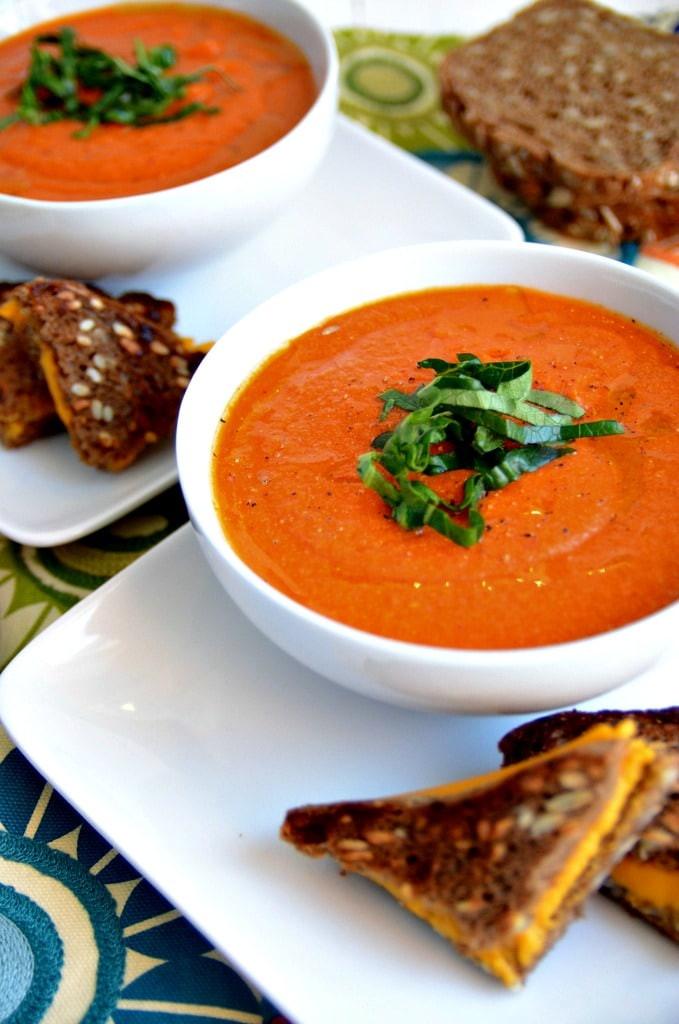 Vegan Tomato Soup Recipes  Dreamy Vegan Tomato Soup Blissful Basil