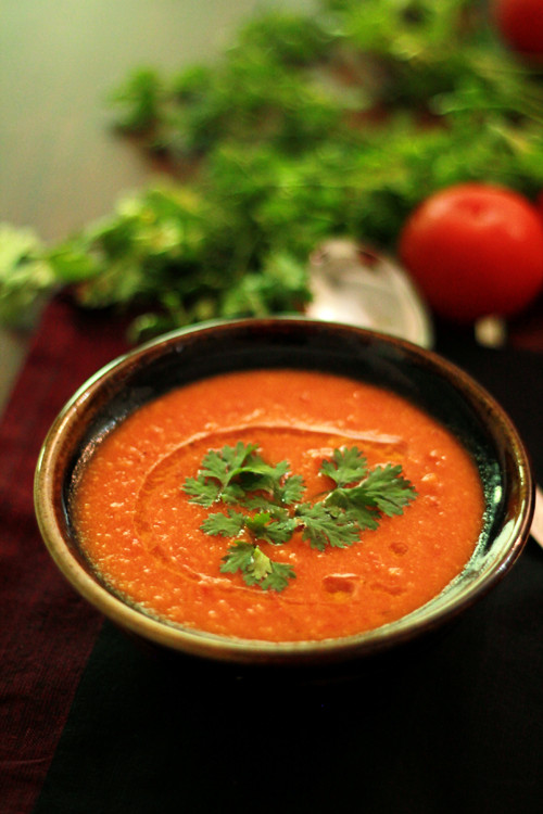 Vegan Tomato Soup  Creamy Roasted Tomato Soup Vegan
