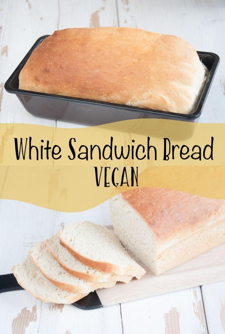 Vegan White Bread  Vegan White Sandwich Bread Recipe