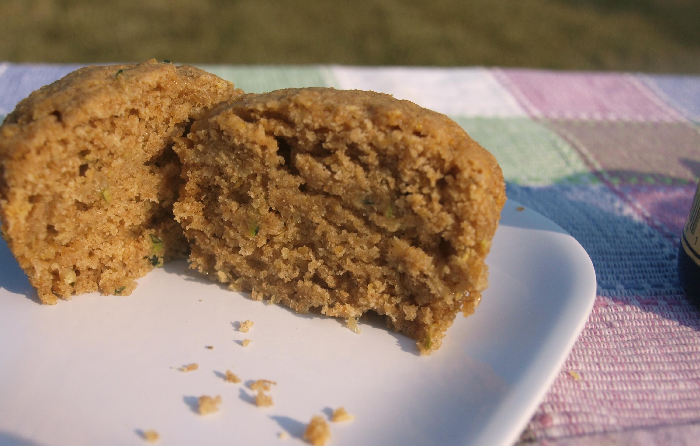 Vegan Zucchini Muffins  Wholesome Vegan Zucchini Muffins Happy Healthy Mama