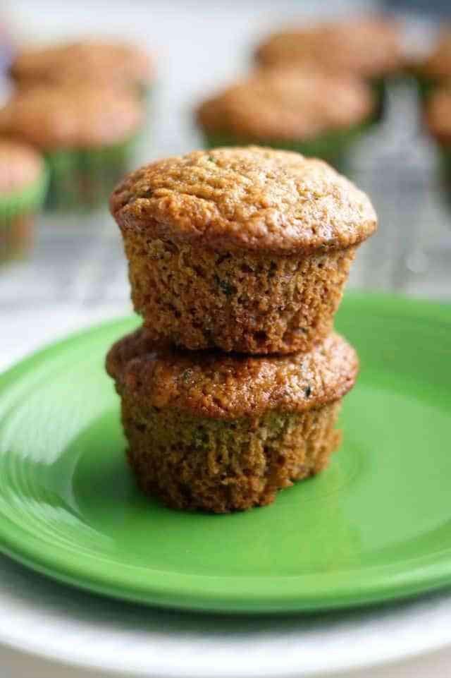 Vegan Zucchini Muffins  Vegan Zucchini Muffins The Pretty Bee