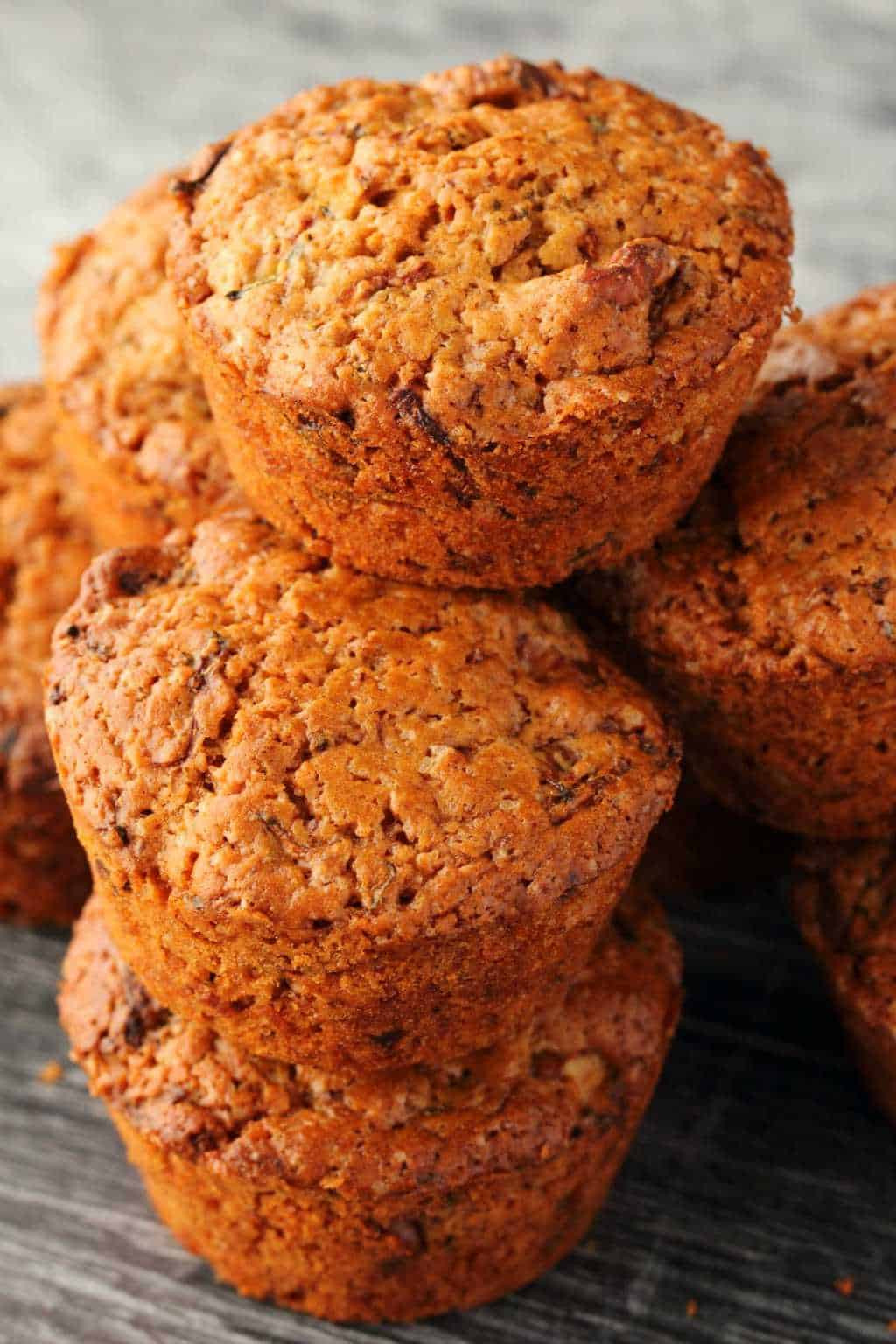 Vegan Zucchini Muffins  Vegan Zucchini Muffins Wholesome and Delicious Loving
