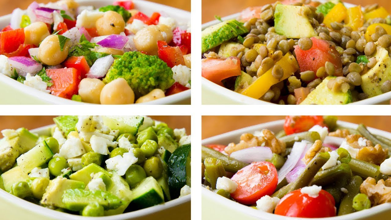 Vegetable Salad Recipes For Weight Loss  4 Ve able Salad Recipes For Weight Loss