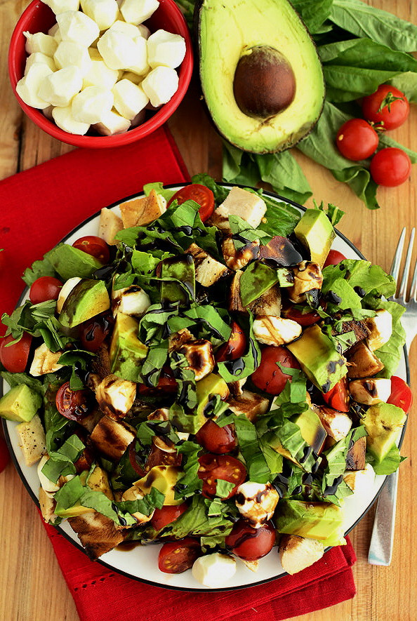 Vegetable Salad Recipes For Weight Loss  Grilled Chicken & Cheesy Vegan Salad – List Healthy Lunch