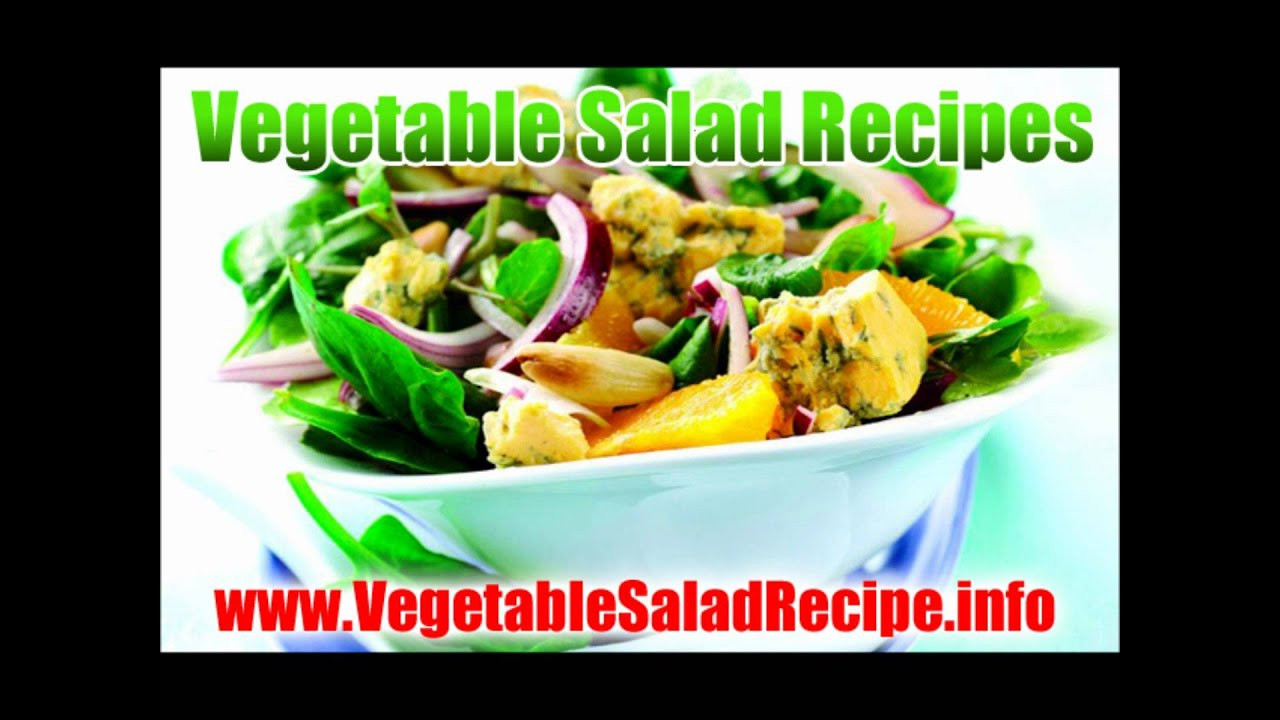 Vegetable Salad Recipes For Weight Loss  Healthy Salad Recipes Weight Loss Ve ables Raw