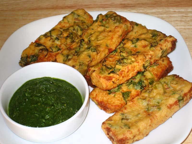 Vegetarian Appetizers Indian  Bread Pakoras Manjula s Kitchen Indian Ve arian Recipes
