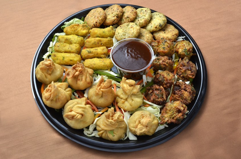 Vegetarian Appetizers Indian  Ve arian Appetizer Platter