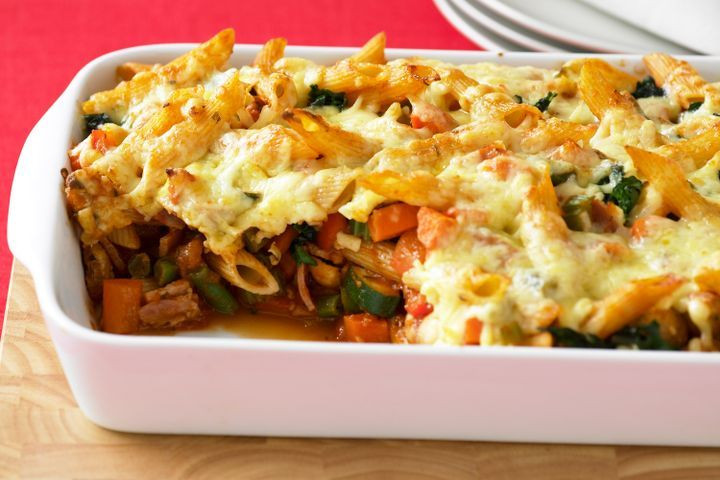 Vegetarian Baking Recipes  Ve able pasta bake