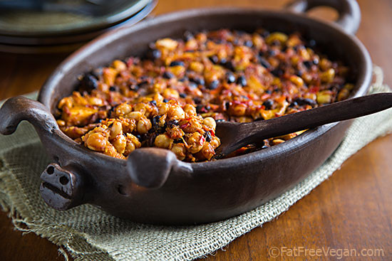 Vegetarian Baking Recipes  Smoky Apple Baked Beans