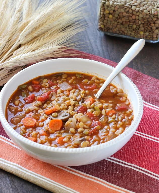 Vegetarian Barley Recipes  barley casserole ve arian