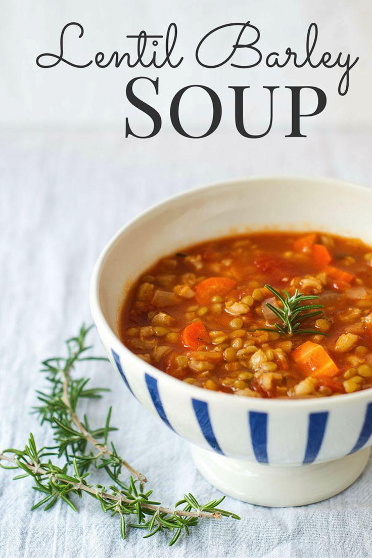 Vegetarian Barley Recipes  The 25 best Barley soup ideas on Pinterest