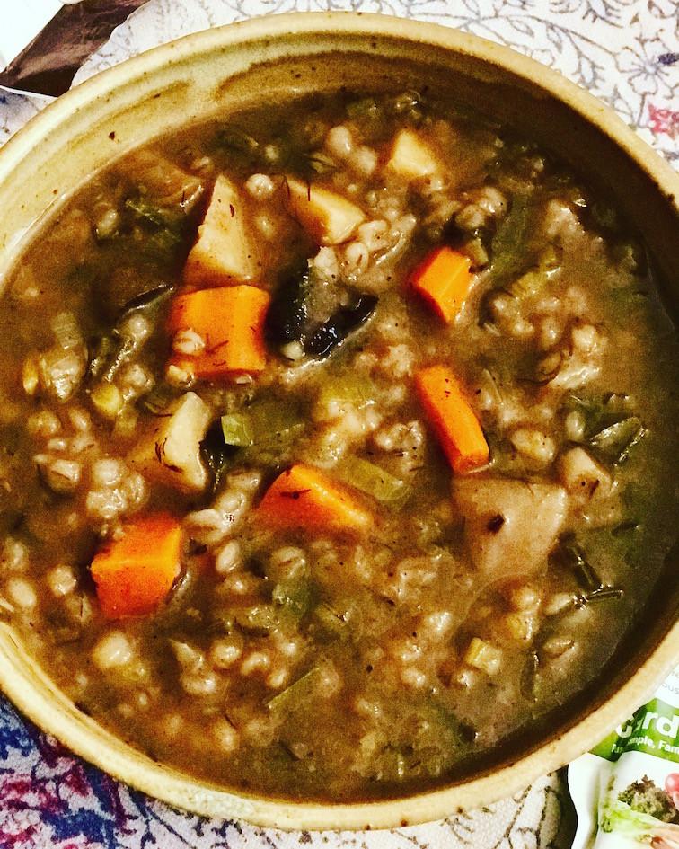Vegetarian Barley Recipes  ve arian mushroom barley soup recipe