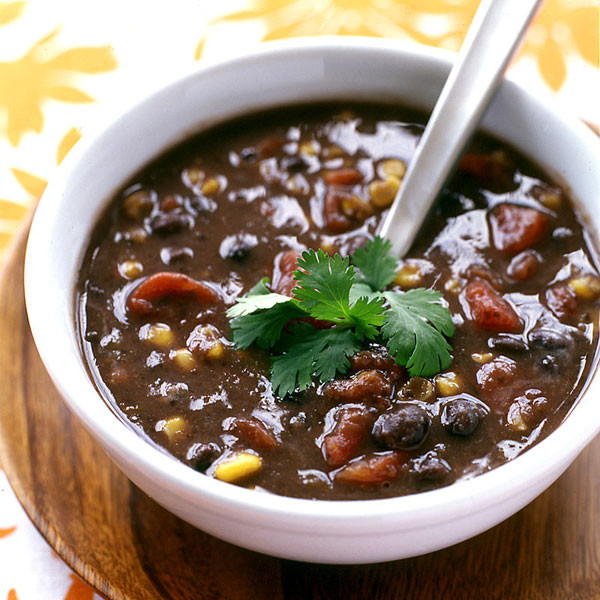 Vegetarian Black Bean Recipes  ve arian black bean soup panera recipe