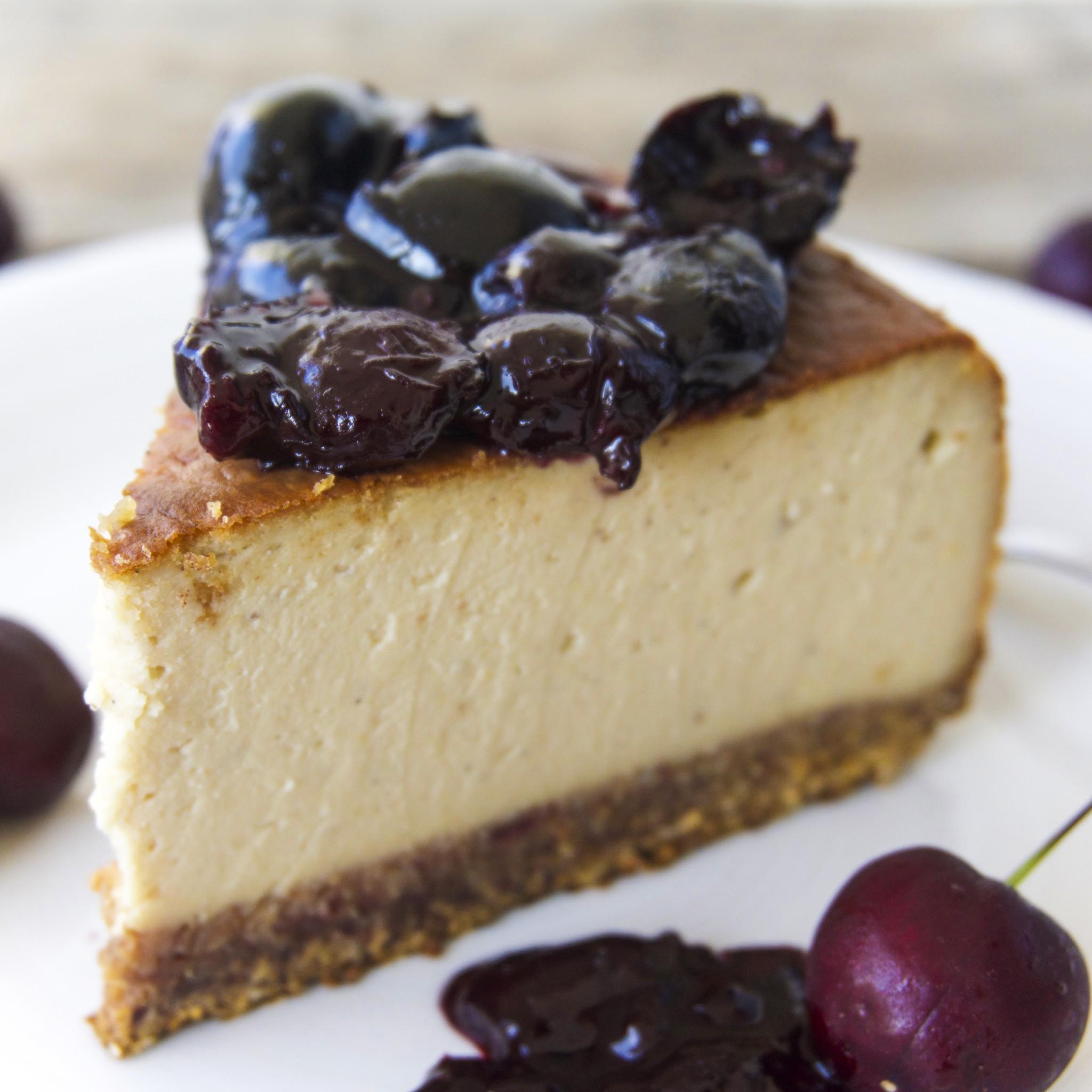 Vegetarian Cheese Cake  Creamy Vegan Cheesecake The Tasty K