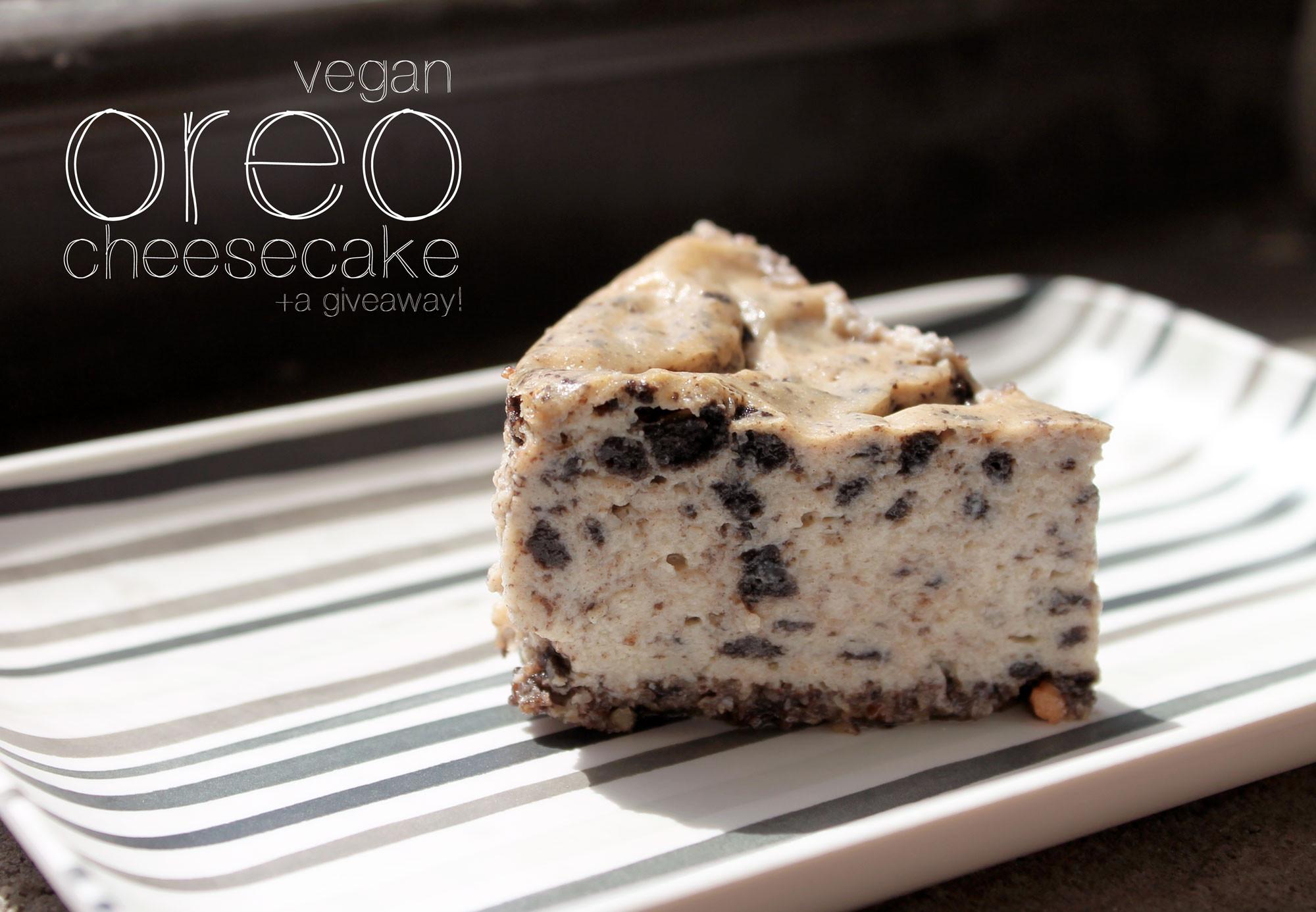 Vegetarian Cheese Cake  Oreo Vegan Cheesecake and Mira Brands Food Container