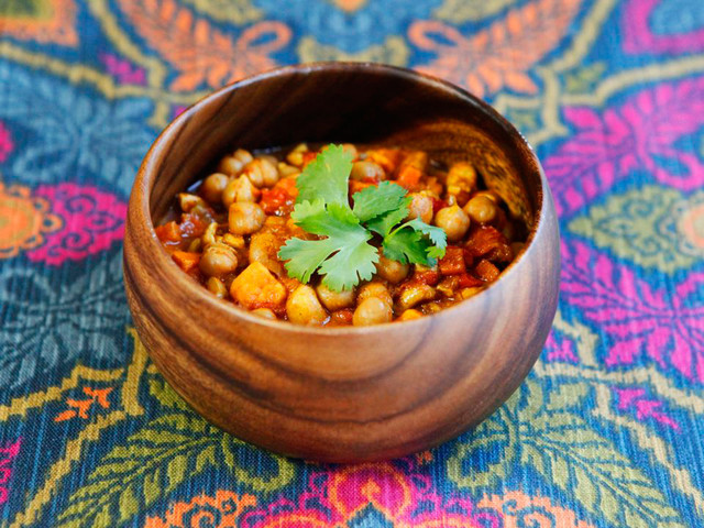 Vegetarian Chickpea Chili  Deliciously Stuffed Sukkot Food Recipes