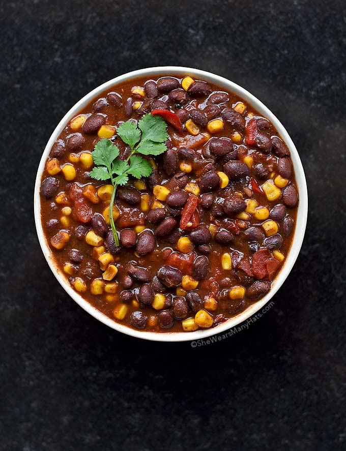 Vegetarian Chili Allrecipes  Easy Ve arian Chili Recipe