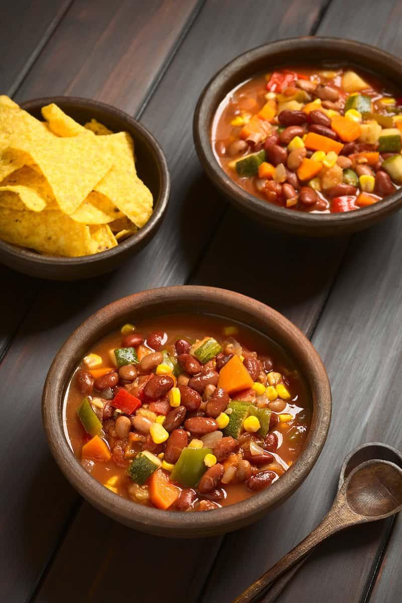 Vegetarian Chili Allrecipes  ZERO Points Weight Watchers Ve arian Chili Recipe DIY