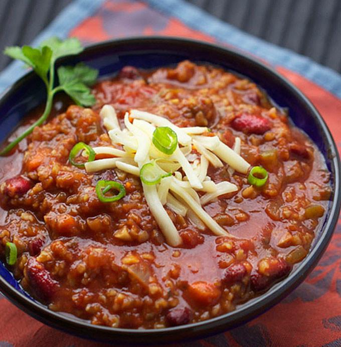 Vegetarian Chili Allrecipes  MY FAVORITE VEGETARIAN CHILI PANNING THE GLOBE
