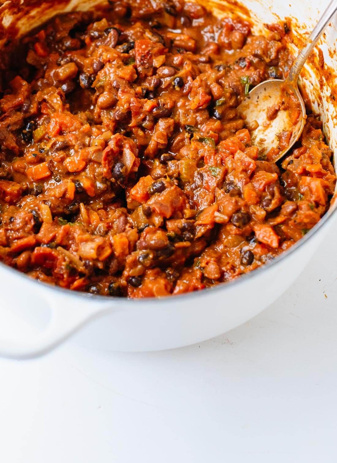 Vegetarian Chili Allrecipes  Homemade Ve arian Chili Cookie and Kate