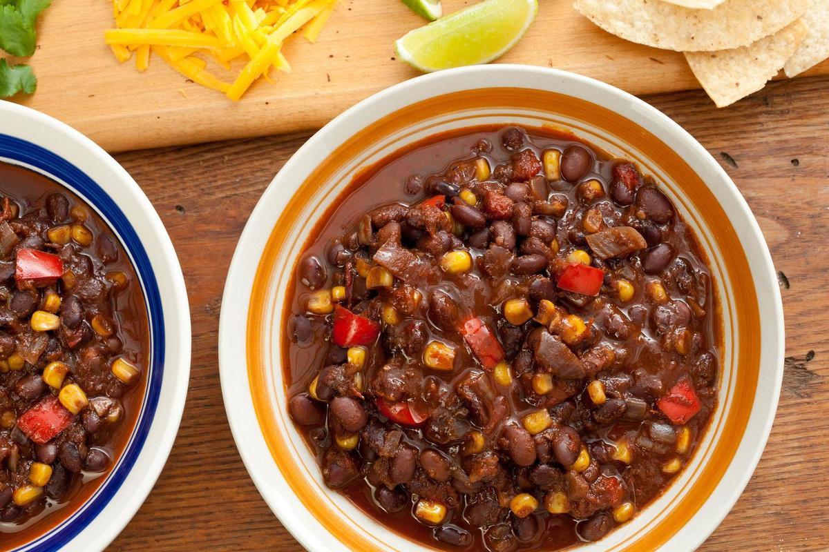 Vegetarian Chili Black Bean  8 Chili Recipes that Represent Different Chili Styles