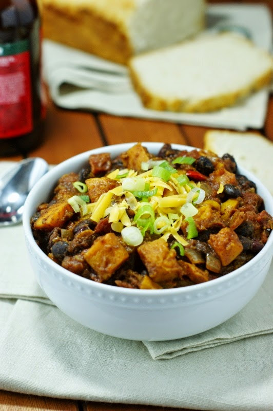 Vegetarian Chili With Squash  Roasted Butternut Squash Chili