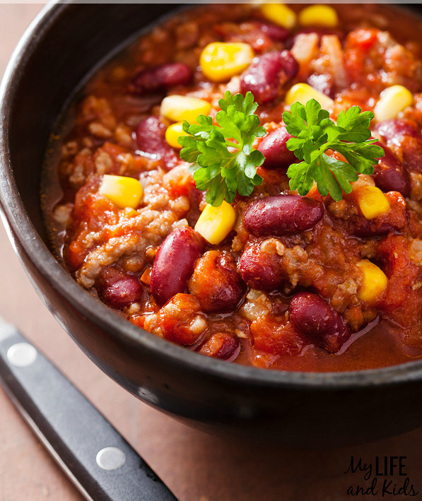 Vegetarian Crock Pot Chili Recipe  Awesome Crock Pot Chili Recipes