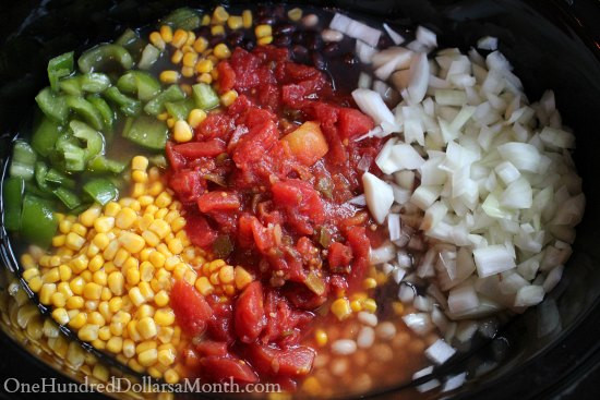 Vegetarian Crock Pot Chili Recipe  Easy Crock Pot Ve arian Chili Recipe e Hundred