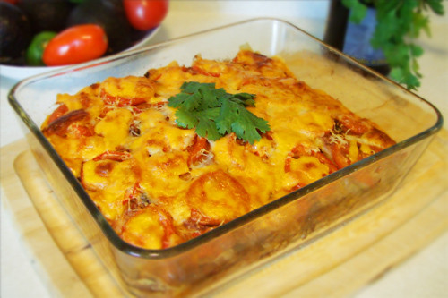 "Vegetarian Dairy Free Recipes  Gluten free Ve arian ""Mexican"" Lasagna"
